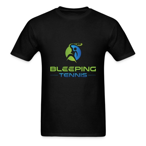 Bleeping Tennis - Men's T-Shirt