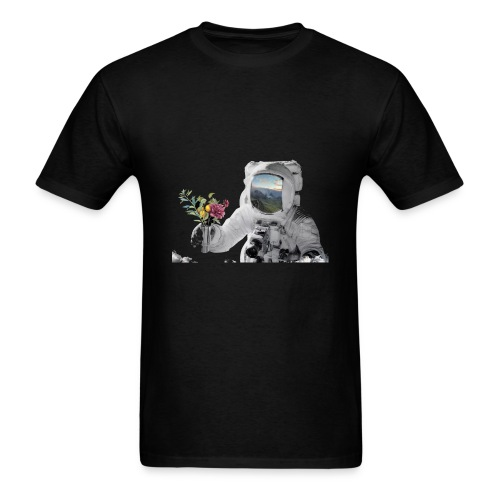 Life in Space - Men's T-Shirt
