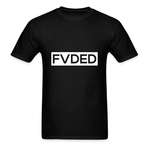 FVDED Cutout resize V1 white - Men's T-Shirt