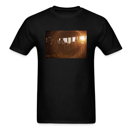 Airport Say No To Love Film Photography - Men's T-Shirt