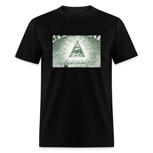 13522112 auge der vorsehung makro auf der ruecksei - Men's T-Shirt