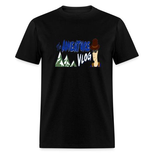 adventure vlog big image - Men's T-Shirt