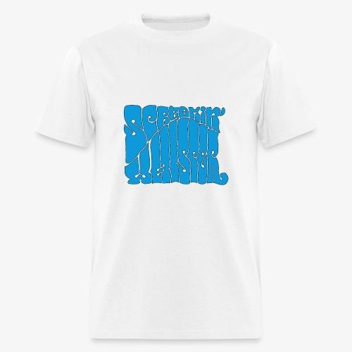 Screamin' Whisper Retro Logo - Men's T-Shirt