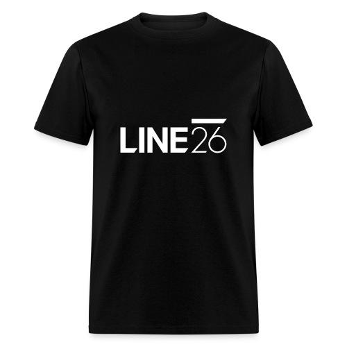 Line26 Logo (Light Version) - Men's T-Shirt