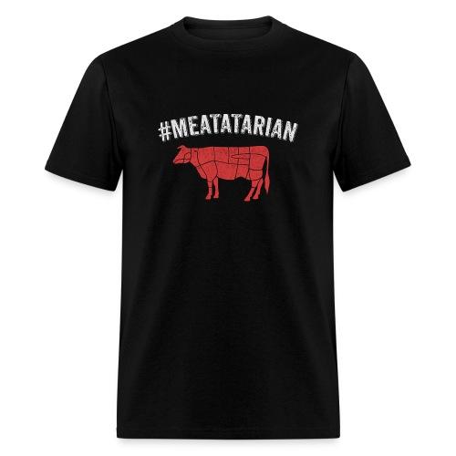 Meatatarian Print - Men's T-Shirt