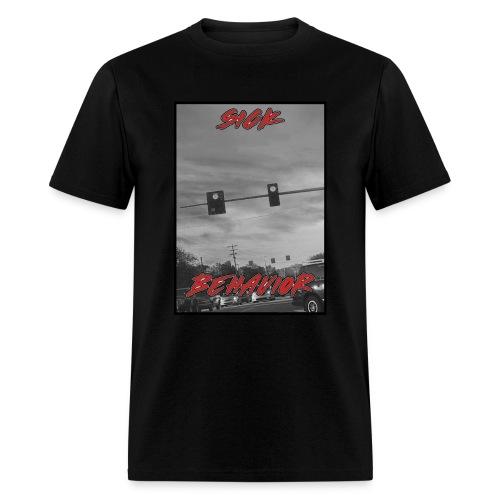 SickBehavior Stopped - Men's T-Shirt