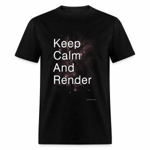 Keep Calm and RENDER - Men's T-Shirt