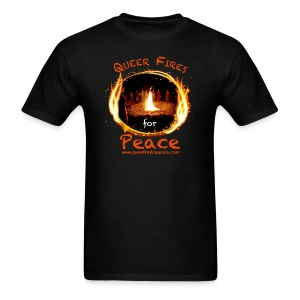Queer Fires for Peace - Men's T-Shirt