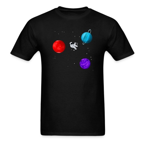 Lonely Astronaut - Men's T-Shirt