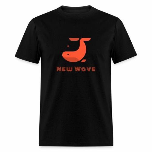 New Wave Whale - Men's T-Shirt