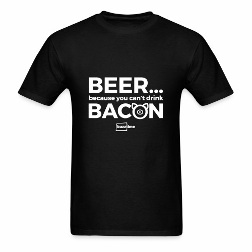 You Can't Drink Bacon - Men's T-Shirt