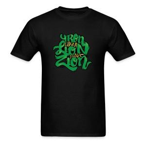 Iron like a Lion inna Zion - Men's T-Shirt