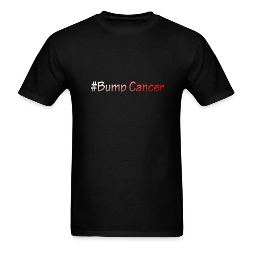 Bump Cancer march 19 2017 - Men's T-Shirt