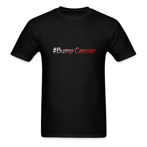 Bump Cancer march 19 2017 - Men's T-Shirt
