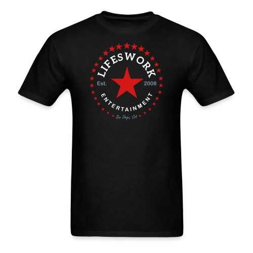 Lifeswork Entertainment - Men's T-Shirt