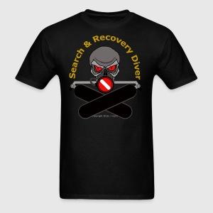 Search and Recovery Diver (Gold Letters) - Men's T-Shirt