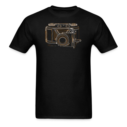 Camera Sketches - Voigtlander Synchro Compur - Men's T-Shirt