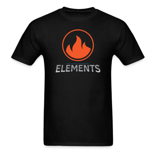 Team Fire's Elements Design - Men's T-Shirt