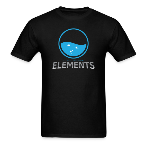Team Water's Elements Design - Men's T-Shirt