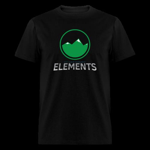 Team Earth's Elements Design - Men's T-Shirt