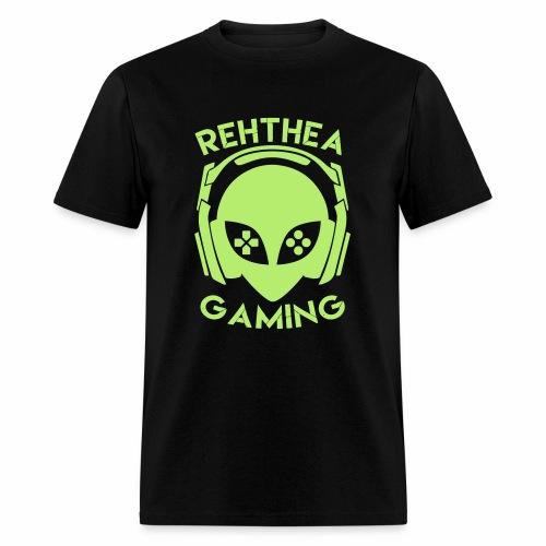 Alien Head Rehthea Gaming - Men's T-Shirt