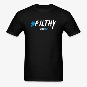 #Filthy Black - Spizoo Hashtags - Men's T-Shirt