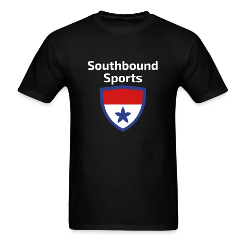 The Southbound Sports Shield Logo. - Men's T-Shirt