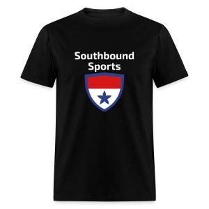 The Southbound Sports Shield Logo. - Men's T-Shirt