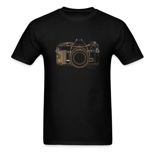 Camera Sketches - Canon AE1 Program - Men's T-Shirt