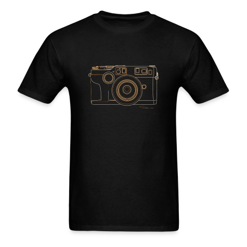 Camera Sketches - Contax G2 - Men's T-Shirt