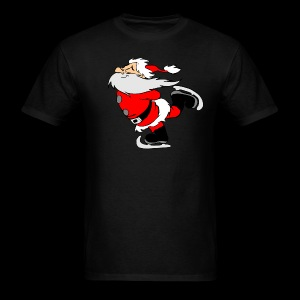 Santa Skating - Men's T-Shirt