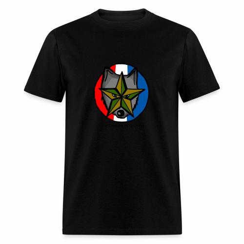 old wolf logo - Men's T-Shirt