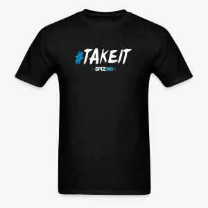 #takeit black - Spizoo Hashtags - Men's T-Shirt