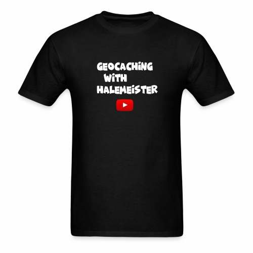 Geocaching with Halemeister - Men's T-Shirt