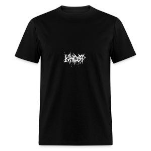 KHOST WHITE LETTERING - Men's T-Shirt