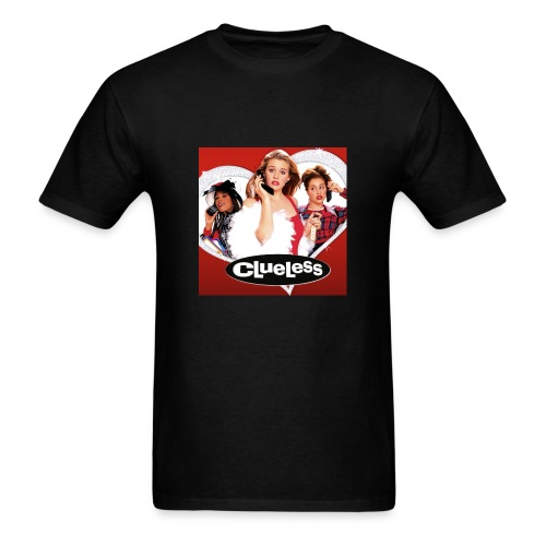 clueless - Men's T-Shirt