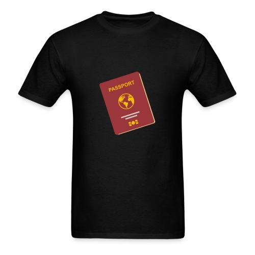 passport travel icon by Travel4hlidays - Men's T-Shirt