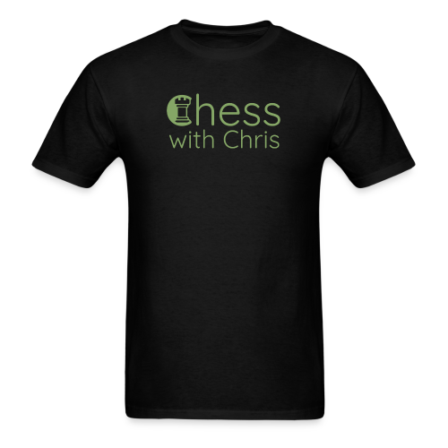Chess With Chris Logo - Men's T-Shirt