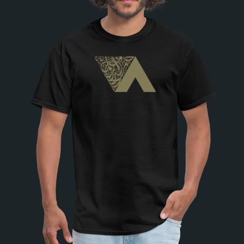 Ahmed Romel Gold Calli Full - Men's T-Shirt