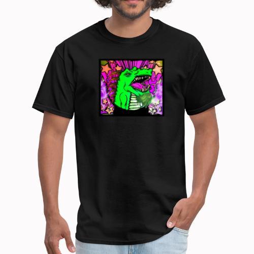 Groovy dragon - Men's T-Shirt
