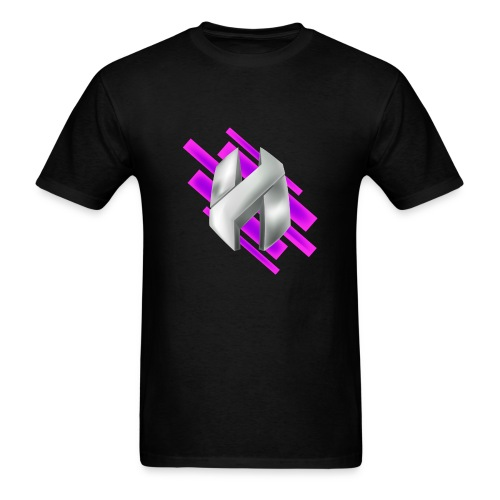 Abstract Purple - Men's T-Shirt