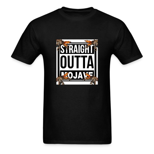 STRAIGHT OUTTA MOJAVE - Men's T-Shirt