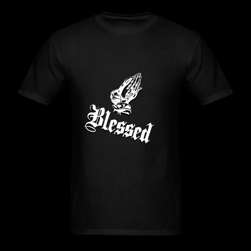 Blessed White - Men's T-Shirt
