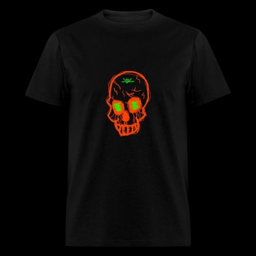 grunge skull - Men's T-Shirt