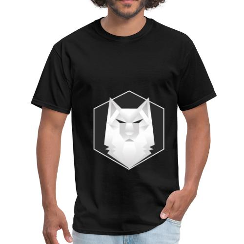 white wolf symmeytrical - Men's T-Shirt