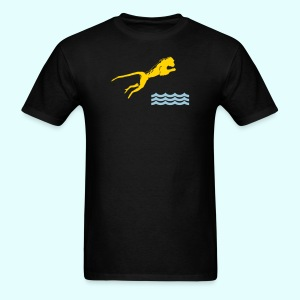 Diving Monkey - Men's T-Shirt
