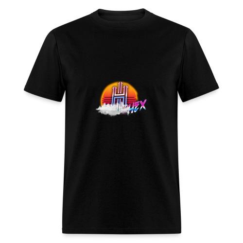 Retro Style Hex Logo - Men's T-Shirt