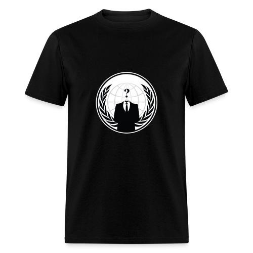 Anonymous Logo - Men's T-Shirt