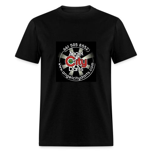 logo on black - Men's T-Shirt
