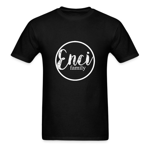 Enci Family Logo - Men's T-Shirt